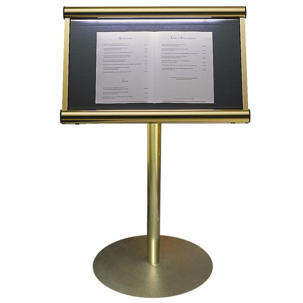 Scroll Menu Stands
