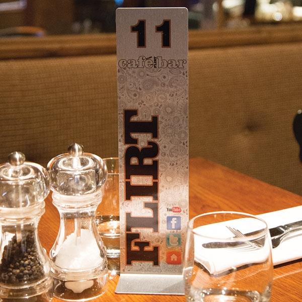 Num ro de table massilia - Numero de table pour restaurant ...