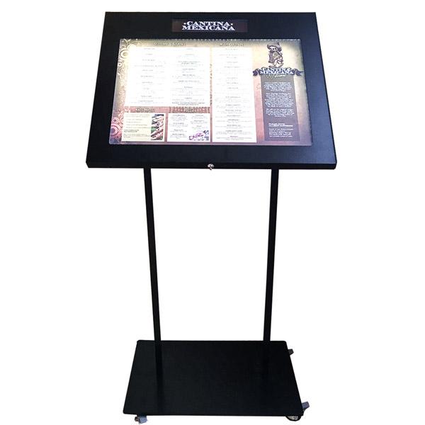 Porte menu pied porte menu ext rieur restaurant - Porte menu restaurant exterieur ...